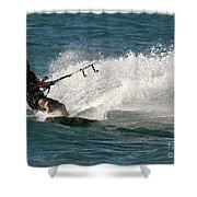 Kite Surfer 04 Shower Curtain