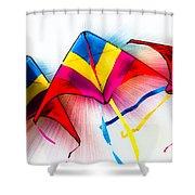Kites Shower Curtain