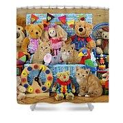 Kitten Dress Box Ck526 Shower Curtain