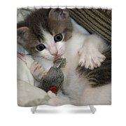 Kitty Claws Shower Curtain