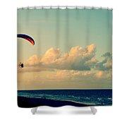 Kitty Hawk Shower Curtain