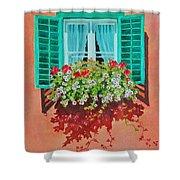 Kitzbuhel Window Shower Curtain