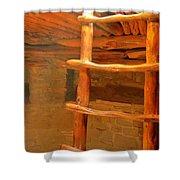 Kiva Ladder Shower Curtain
