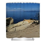Kiwanda Beach Shower Curtain