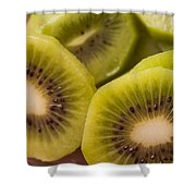 Kiwi For Lunch Shower Curtain