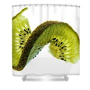 Kiwi With A Twist Shower Curtain