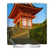 Kiyomizudera Temple Shower Curtain