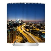 Kl At Blue Hour Shower Curtain