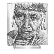 Klamath Woman Shower Curtain