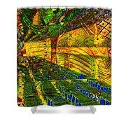 Klimt Covetous Shower Curtain