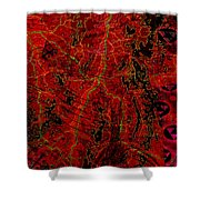 Klimt Surface Shower Curtain