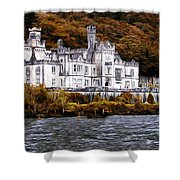 Klyemore Abbey Shower Curtain
