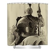 Knight 6 Shower Curtain