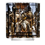 Knight And Friends Shower Curtain