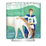 Knight Of Cups Shower Curtain