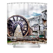 Knitsley Mill 1 Shower Curtain