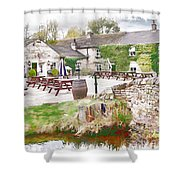 Knitsley Mill 5 Shower Curtain