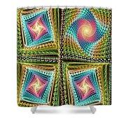 Knitting Shower Curtain by Anastasiya Malakhova