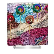 Knitting Lane Shower Curtain