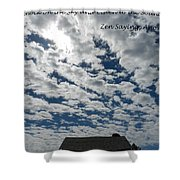 Knock On The Sky 2 Shower Curtain