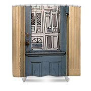 Knock Twice And Ask For Betty Shower Curtain