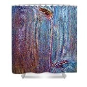 Knotty Plank #2b Shower Curtain