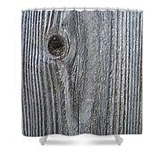 Knotty Plank #3a Shower Curtain