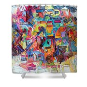 Know That This Is The Purpose Of The Creation To Deepen Knowledge And Thought On The Service Of G-d Shower Curtain