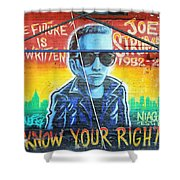 Know Your Rights Shower Curtain