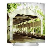 Knox Bridge Shower Curtain