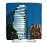 Knoxville Buildings Shower Curtain