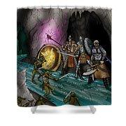 Kobold Entry Cavern Shower Curtain