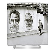 Kochi Urban Art Shower Curtain