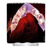Kodachrome Cave Shower Curtain