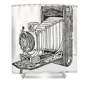 Kodak 3a Autographic Shower Curtain