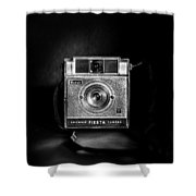 Kodak Brownie Fiesta Shower Curtain