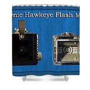 Kodak Brownie Hawkeye Camera Shower Curtain