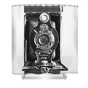 Kodak No. 2 Folding Autographic Brownie Camera Shower Curtain