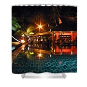 Koh Samui Beach Resort Shower Curtain