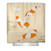 Kohaku Shower Curtain
