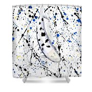 Koi Bekko Splash Shower Curtain