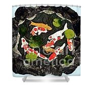 Koi Fest Shower Curtain
