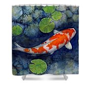 Koi Pond Shower Curtain