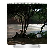 Koki Beach Hana Maui Hawaii Shower Curtain