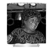 Koko Taylor Shower Curtain