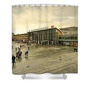 Koln Hauptbahnhof  Shower Curtain