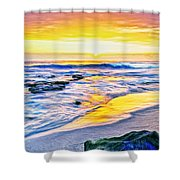 Kona Coast Sunset Shower Curtain