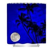 Kona Moon Rising Shower Curtain