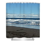 Kona Shoreline 1 Shower Curtain