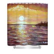 Kona Sunset Shower Curtain